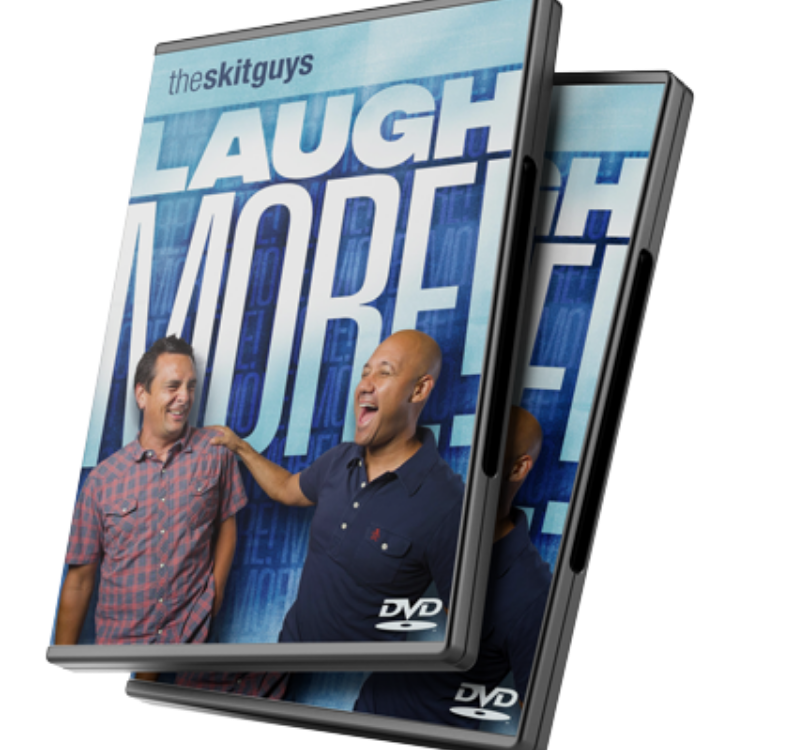 laugh more dvd cover