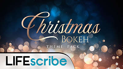 Christmas Bokeh Theme Pack