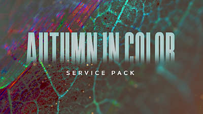 Autumn In Color Service Pack