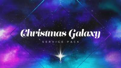 Christmas Galaxy Service Pack