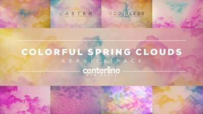 Colorful Spring Clouds Service Pack