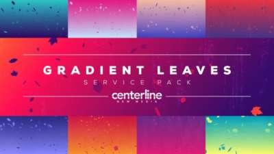 Gradient Leaves Service Pack