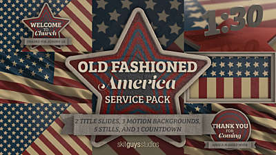 Old Fashioned America Service Pack