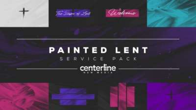 Painted Lent Service Pack