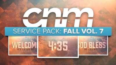Service Pack: Fall Vol. 7