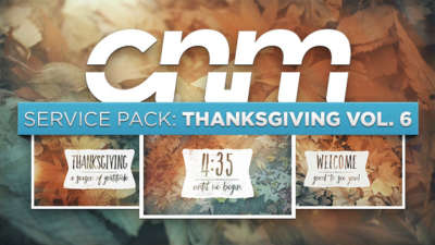Service Pack: Thanksgiving Vol. 6