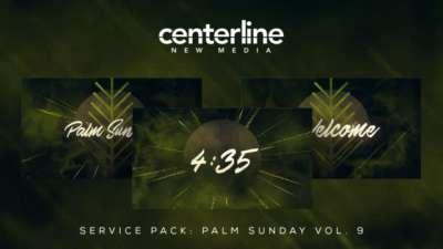 Service Pack: Palm Sunday Vol. 9