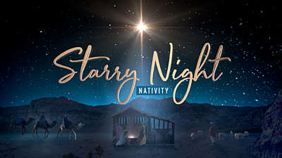 Starry Night Nativity Collection