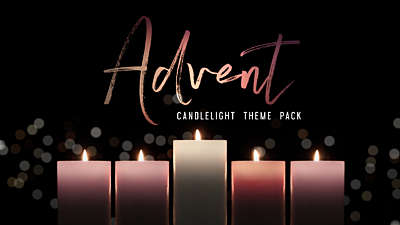 Advent Candlelight Theme Pack