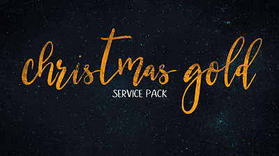 Christmas Gold Service Pack