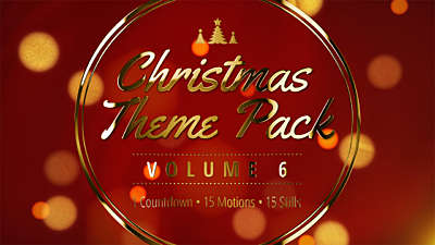 Christmas Theme Pack Volume 6