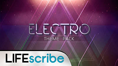 Electro Theme Pack