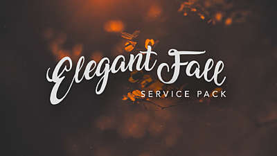Elegant Fall Service Pack