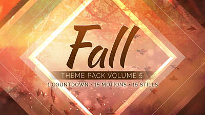 Fall Theme Pack Volume 5