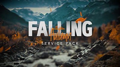 Falling Autumn Service Pack