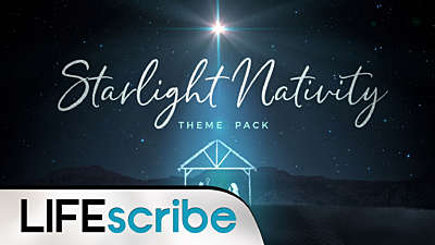 Starlight Nativity Theme Pack