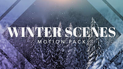 Winter Scenes Pack