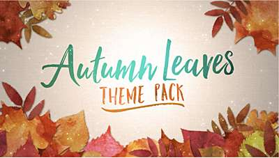 Autumn Leaves Theme Pack