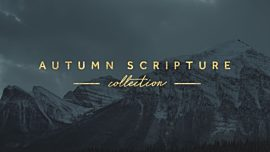 Autumn Scripture Collection