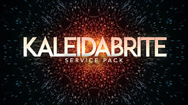 Kaleidabrite Service Pack
