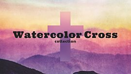Watercolor Cross Collection