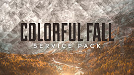 Colorful Fall Service Pack