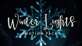 Winter Lights Motion Pack