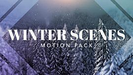 Winter Scenes Pack