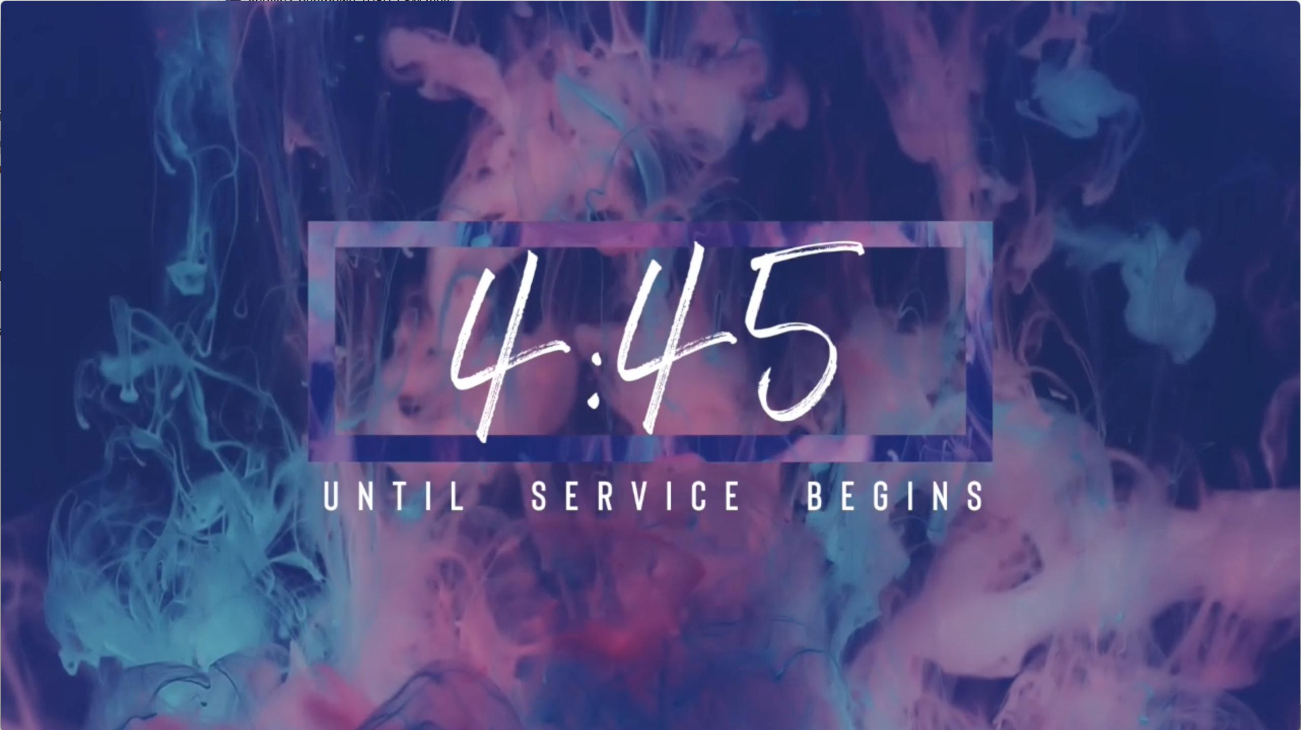 Acrylic Countdown