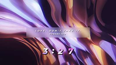 Color Waves Countdown Scripture
