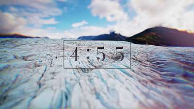 Glacial Shift Countdown