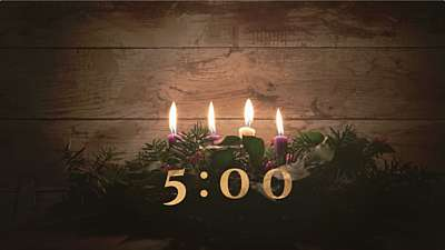 Simple Advent Countdown