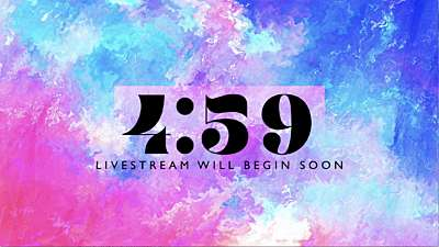 Spring Paint Livestream Countdown