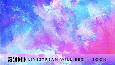 Spring Paint Livestream Lower Third Countdown