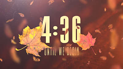 Thankful Fall Countdown