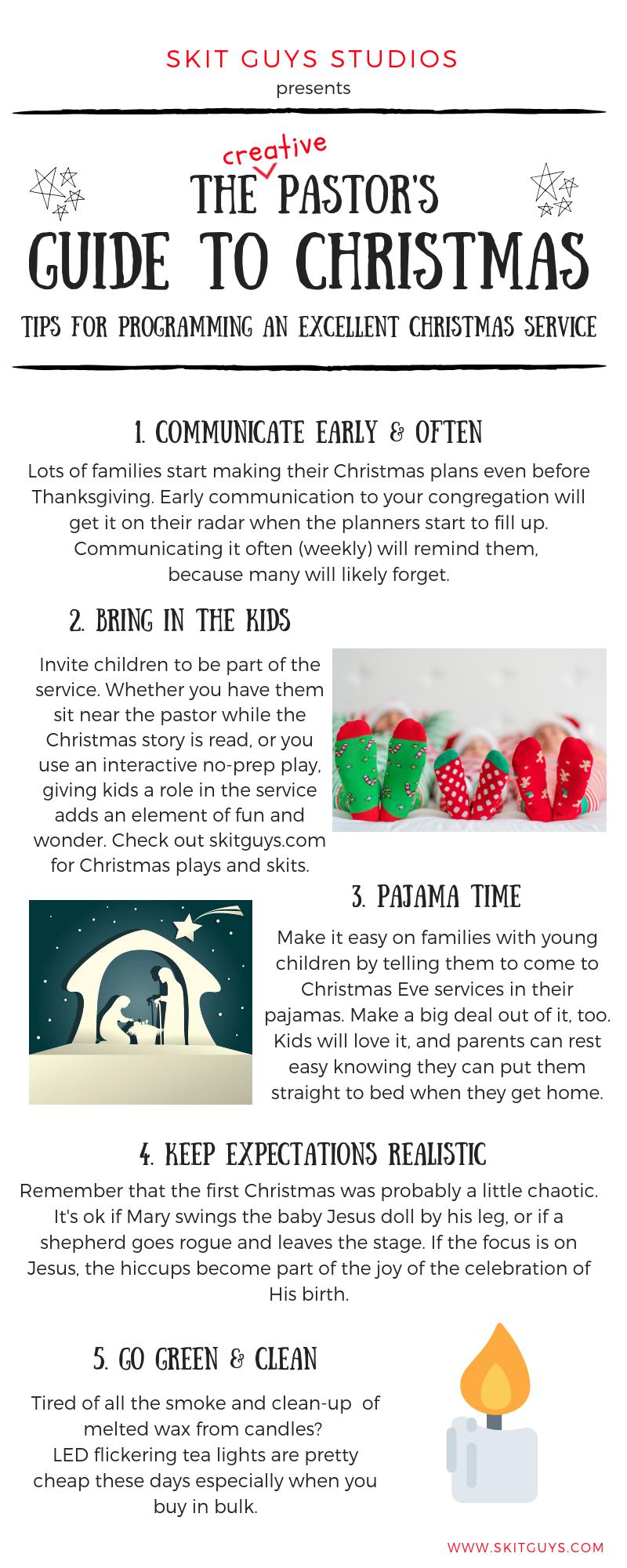 Christmas Tips Infographic
