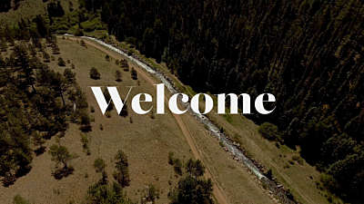 Aerial Welcome