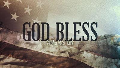 America God Bless