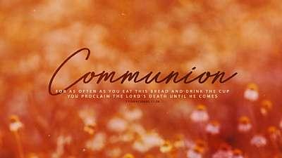 Autumn Blur Communion