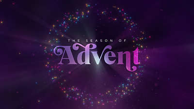 Christmas Glow Advent Title