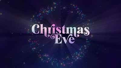 Christmas Glow Christmas Eve Title