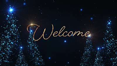 Christmas Glow Welcome