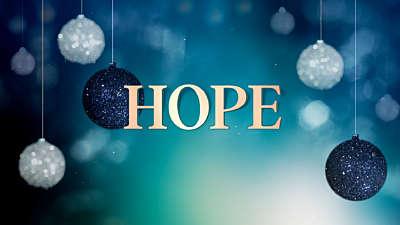 Christmas Ornaments Hope