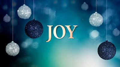 Christmas Ornaments Joy