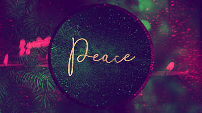 Christmas Reflections Advent Peace