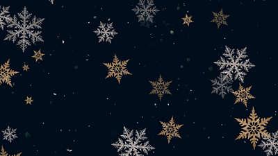 Christmas Snowflakes 12