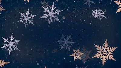 Christmas Snowflakes 7