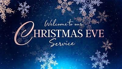 Christmas Snowflakes Christmas Eve