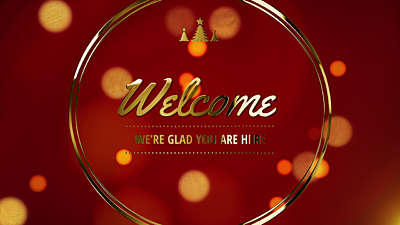 Christmas Welcome Loop Vol 6