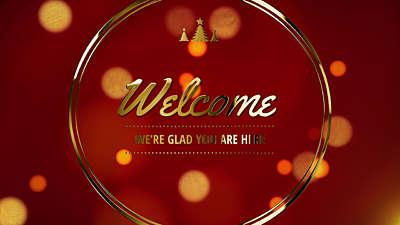 Christmas Welcome Loop Vol 6